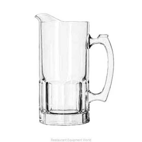 Libbey 5263 Pitcher, Glass (Magnified)