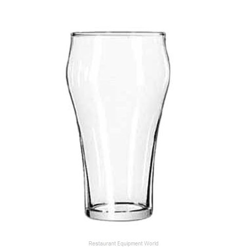 Libbey 539HT Bell Soda Glass (Magnified)