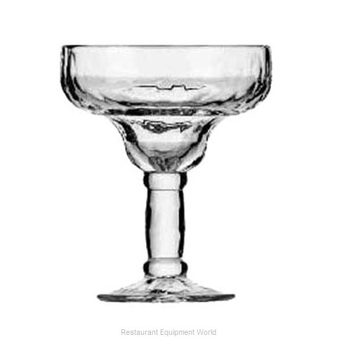 Libbey 5784 Glass, Margarita (Magnified)