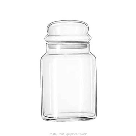 Libbey 70997 Storage Jar / Ingredient Canister, Glass