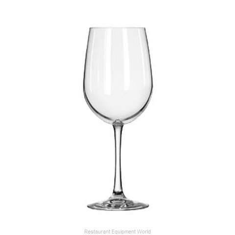 Libbey 7504 Glass, Wine (Magnified)