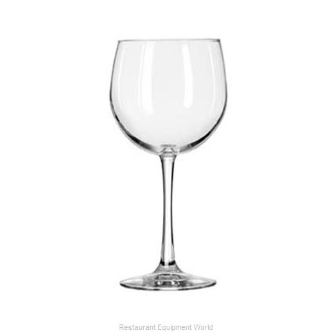 Libbey 7509 Glass, Wine (Magnified)