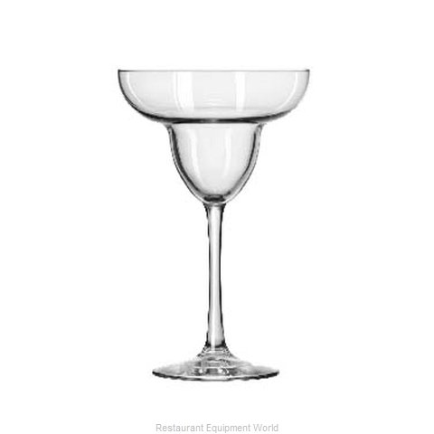 Libbey 7511 Margarita Glass (Magnified)