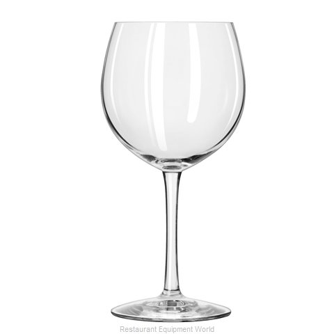 Libbey 7535SR Glass, Wine (Magnified)