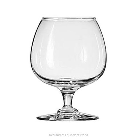 Libbey 8405 Glass, Brandy / Cognac (Magnified)