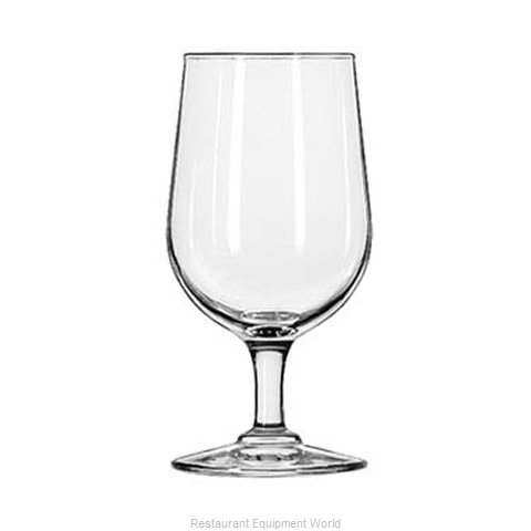 Libbey 8411 Glass, Goblet (Magnified)