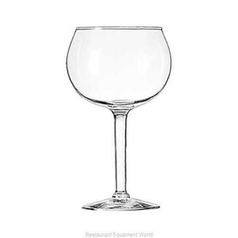 Libbey 8415 Glass, Wine (Magnified)