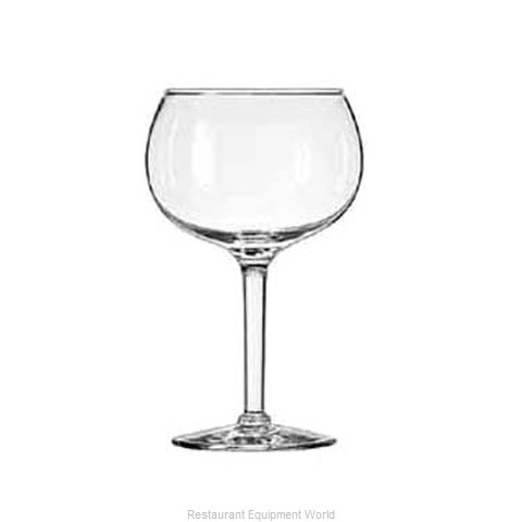 Libbey 8418 Glass, Margarita (Magnified)