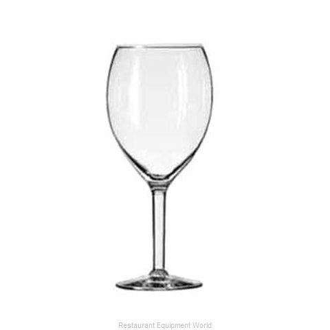 Libbey 8420 Glass, Wine (Magnified)