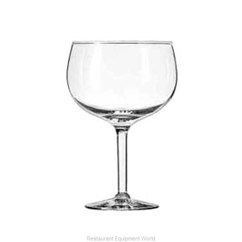 Libbey 8427 Glass, Margarita (Magnified)