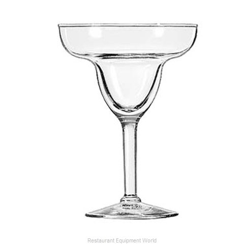 Libbey 8429 Glass, Margarita (Magnified)