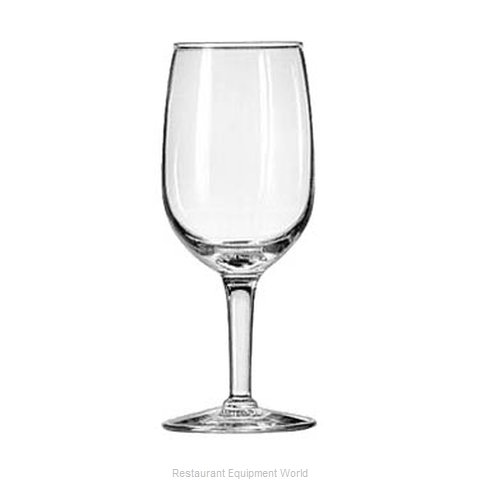 Libbey 8466 Glass, Wine (Magnified)