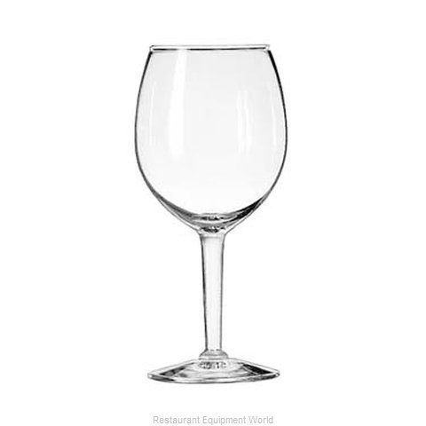 Libbey 8472 Glass, Wine (Magnified)