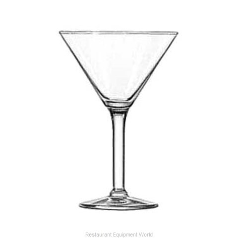 Libbey 8480 Martini Glass (Magnified)