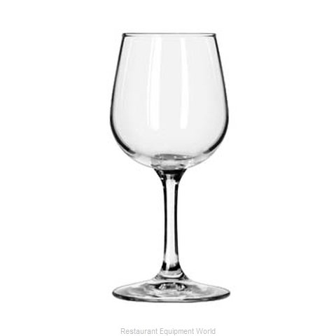 Libbey 8550 Glass, Wine (Magnified)