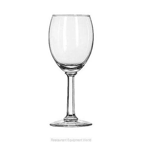Libbey 8764 White Wine Glass (Magnified)