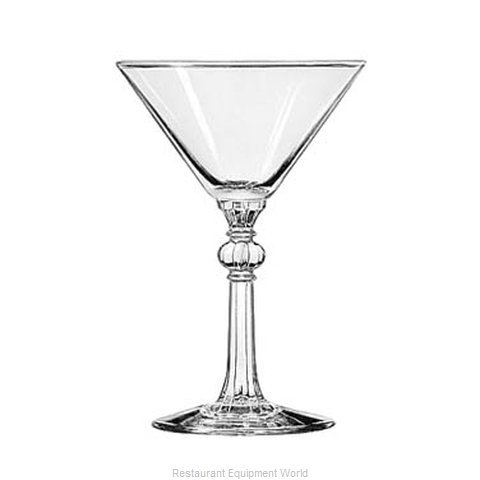 Libbey 8876 Martini Glass (Magnified)