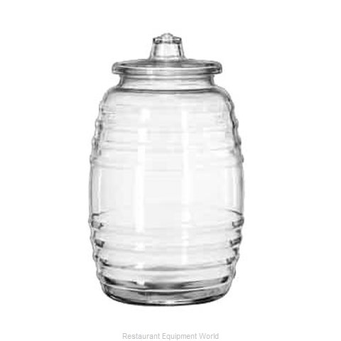 Libbey 9520003 Storage Jar / Ingredient Canister, Glass