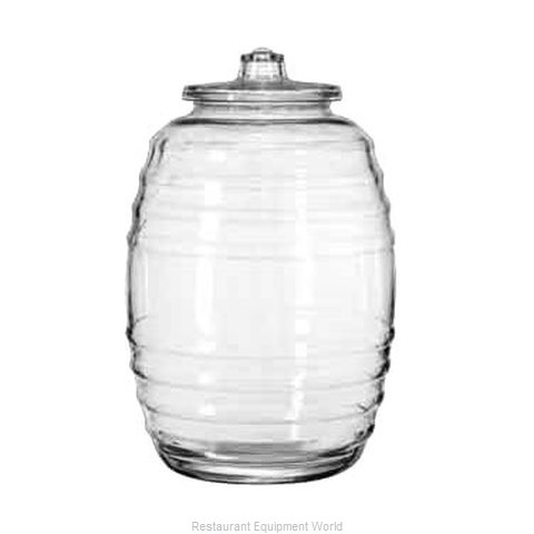 Libbey 9520004 Storage Jar / Ingredient Canister, Glass