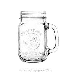 Libbey 97085 Glass, Mason Jar