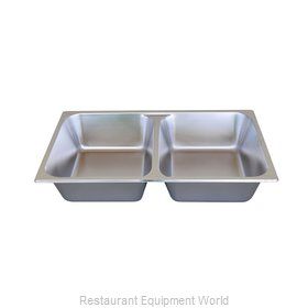 Libertyware 5004DV Steam Table Pan, Stainless Steel