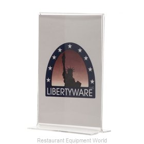 Libertyware ACH46 Menu Card Holder / Number Stand