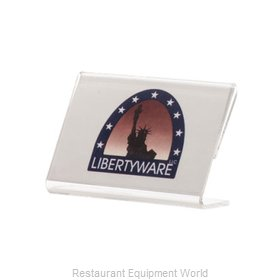 Libertyware AED32 Menu Card Holder / Number Stand