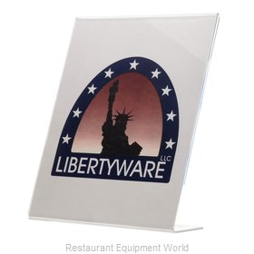 Libertyware AED811 Menu Card Holder / Number Stand