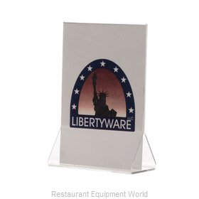 Libertyware ASCH46 Menu Card Holder / Number Stand