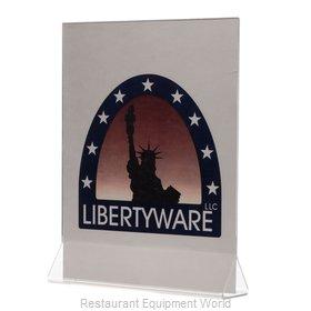 Libertyware ASCH811 Menu Card Holder / Number Stand
