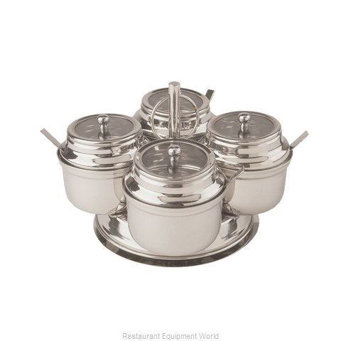 Libertyware RCS4 Condiment Caddy, Rack Only
