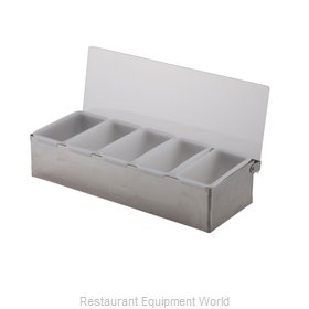 Libertyware SSCH5 Bar Condiment Server, Countertop