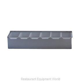 Libertyware SSCH6 Bar Condiment Server, Countertop