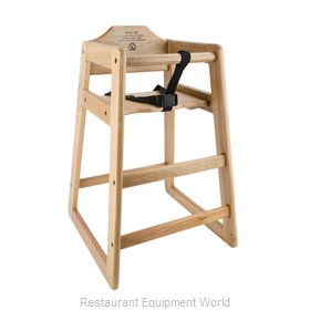 Libertyware WHCFAN-N High Chair, Wood