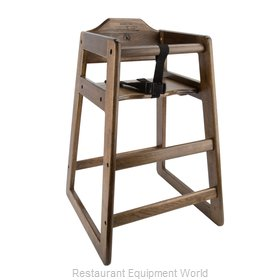 Libertyware WHCFAW-N High Chair, Wood