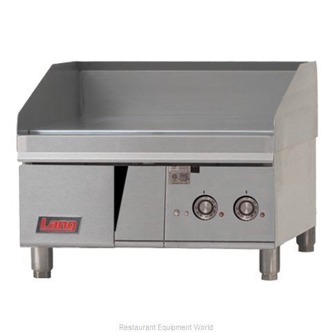 Lang Manufacturing 124T Griddle, Electric, Countertop