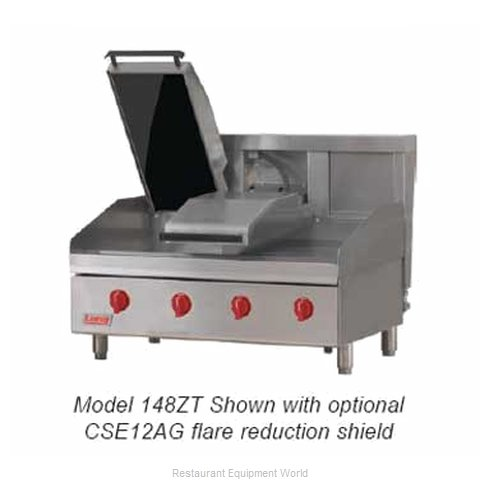 Lang Manufacturing 124ZTC Griddle Counter Unit Electric