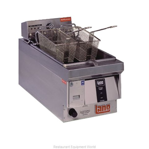Lang Manufacturing 130F Fryer Counter Unit Electric Full Pot