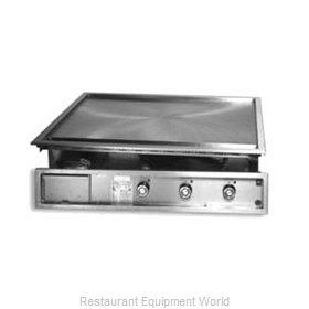 Lang Manufacturing 136SDI Electric Drop in Griddles
