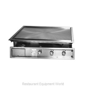 Lang Manufacturing 136TDI Griddle, Electric, Built-In