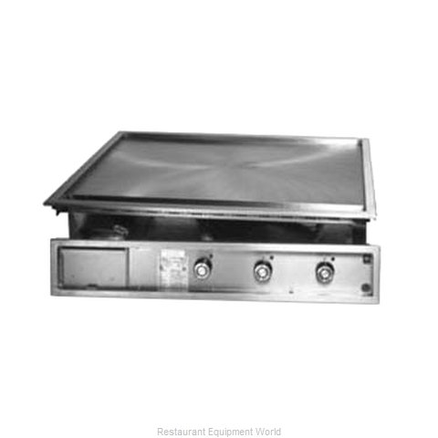 Lang Manufacturing 160TDI Griddle, Electric, Built-In