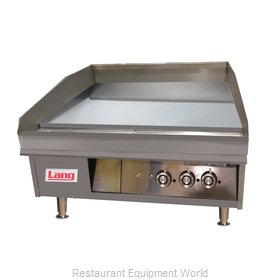 Lang Manufacturing 172TC Griddle, Electric, Countertop