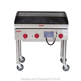 Lang Manufacturing 2124ZRCB Charbroiler Gas Counter Model