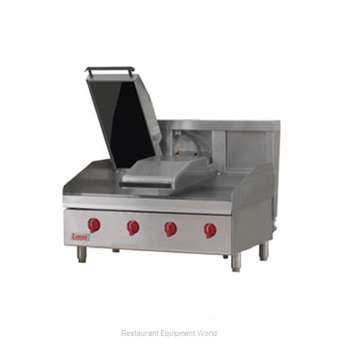 Lang Manufacturing 224ZT Griddle Counter Unit Gas