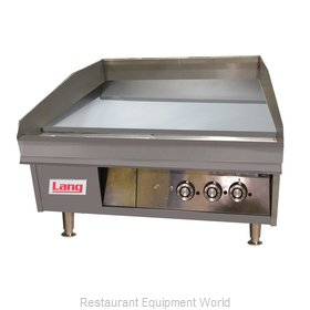Lang Manufacturing 236S Griddle, Gas, Countertop