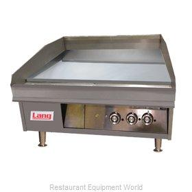 Lang Manufacturing 236SC Griddle, Gas, Countertop