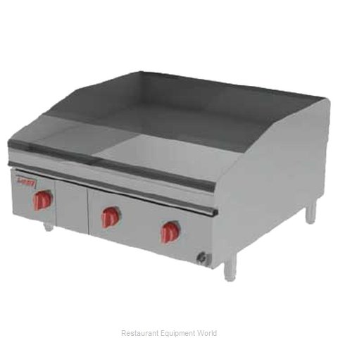 Lang Manufacturing 236ZTDC Griddle Counter Unit Gas