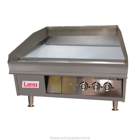 Lang Manufacturing 248TC Griddle, Gas, Countertop