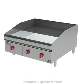 Lang Manufacturing 248ZSDC Griddle, Gas, Countertop