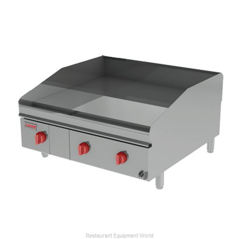 Lang Manufacturing 248ZTDC Griddle Counter Unit Gas